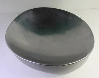 Vintage Modern Egg Shaped Aluminum Fruit Bowl - Made by Designco