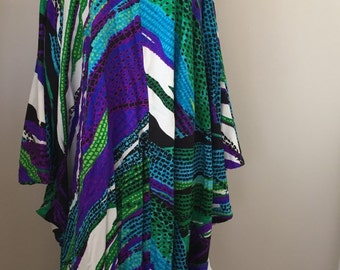 Vintage Muu Muu Abstract Dress
