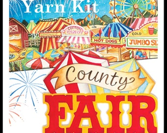 PREORDER County Fair MKAL Yarn Kit in your choice of sizes and colors
