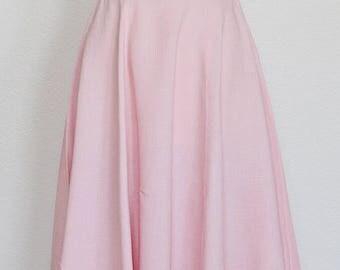 1950's My Girl || Pink linen || xS ||