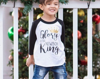 Religious Christmas Shirt, Christian Shirt, Boys Christmas Shirt, Baby Shower Gift, Boys Christian Shirt, Religious Shirt, Child of God