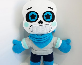 Blueberry Sans Plush 20 INCHES TALL ~ Inspired by Underswap (UNOFFICIAL) Undertale Plush