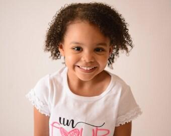 Girls 4th birthday shirt or bodysuit  --  Girls un four gettable birthday shirt any age -- Girls Birthday Shirt