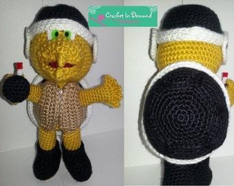 PATTERN Crochet Bomber Bro