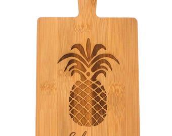 Custom Cutting Board - Rectangle Bamboo Cutting Board - Personalized Cheese Board - Couple Cutting Board
