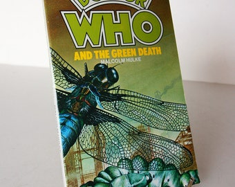 Doctor Who and the Green Death by Malcolm Hulke Paperback Vintage sci-fi 1980s