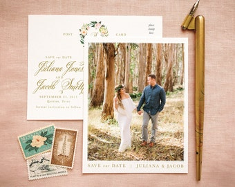 Save Our Date Photo Invites for Bohemian Wedding