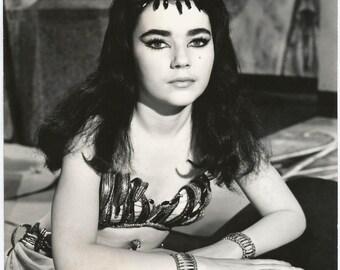 "1960s BRIGID BAZLEN in ""King of Kings"" Movie (1961) / Hollywood Vamp Pin Up Art Deco Actress Star Legend Gigantic Original Press Photo"