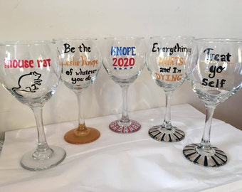 Parks and Rec Wine Glass Set