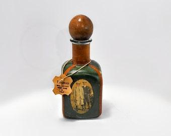 Noymer Leather Golf Decanter Vintage Drink Barware Italy