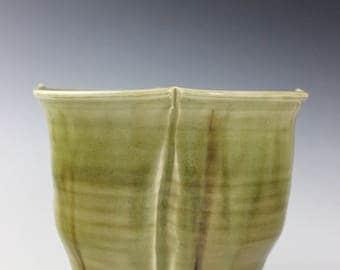 Squared Porcelain Vase