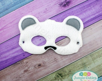 Polar Bear Mask (M068), Children's Mask for Dress-Up, Party Favors