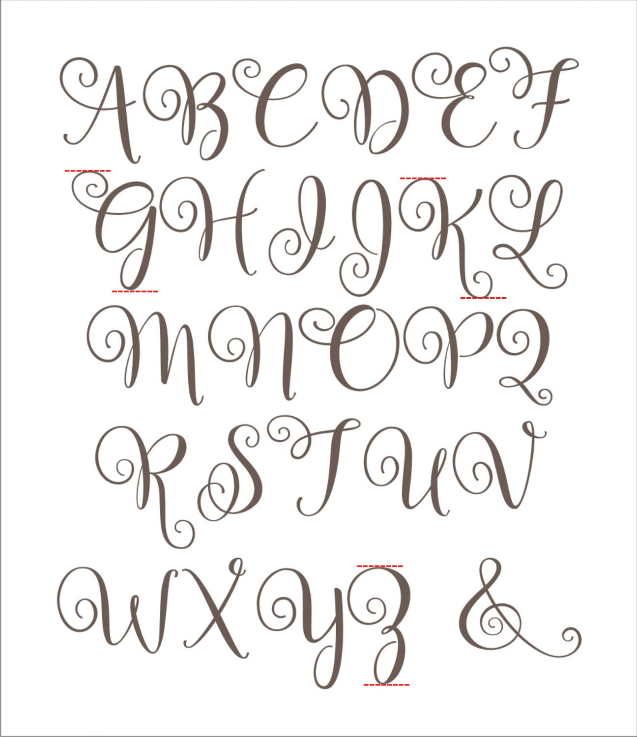 Canny image for printable stencil letters