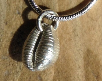 Fine Silver Iona Cowrie Shell
