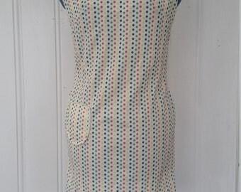SALE! Mod Miss Colebrook • 1960s Polka-Dot Minidress