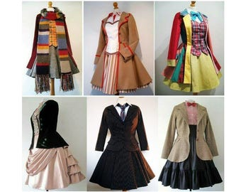 FOR INFORMATION ONLY- Doctor Who Gender Swap Femme Cosplay Costumes - Please Do Not Purchase From This Listing Read Full Item Details Thanks