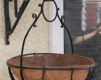 Forged Hanging Basket