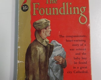 The Foundling by Francis Cardinal Spellman Cardinal Books C-69 1952 Vintage Paperback