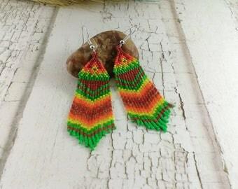 Dangle earrings Boho earrings Gypsy earrings Tribal earrings Bohemian earrings Ethnic earrings Everyday earrings Delicate earrings dainty