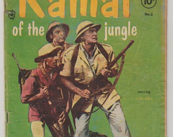 Ramar of the Jungle; Vol 1, 2, Golden Age Comic Book. VG-. September 1955. Toby Press