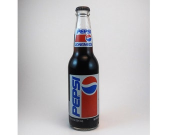 Pepsi Long Neck Classic 12oz Circa 1992