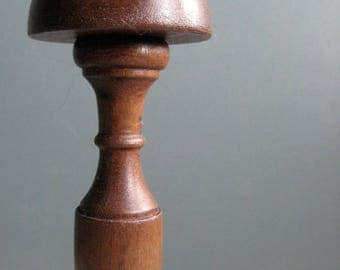 a vintage french wooden hat stand, vintage display
