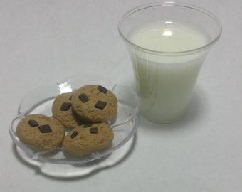 Chocolate Chip Cookies,American Girl Food,Drinks,Snacks 18 in Doll Food