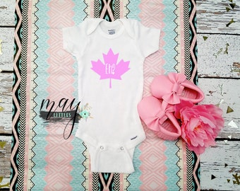 Canada Eh Onesie - First Canada Day Baby - Baby Shower Gifts - I Am Canadian