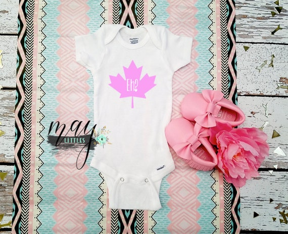 Baby Shower Favors Canada ~ Canada eh onesie first day baby shower gifts