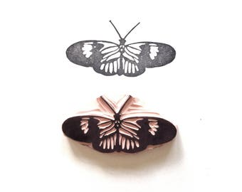 Doris Longwing Butterfly Rubber Stamp | 024135