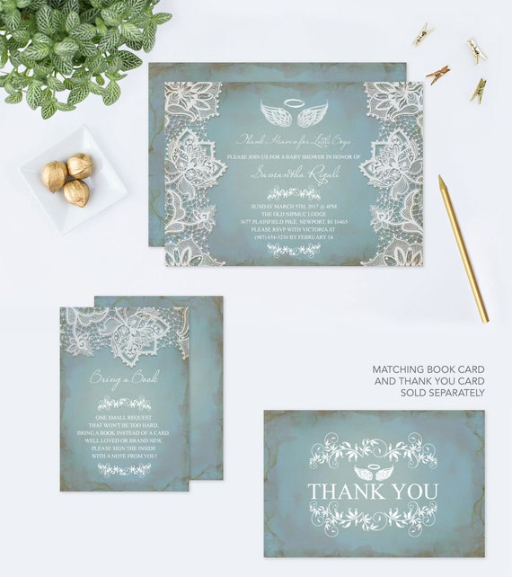 Baby shower invitation heaven sent pdf invite template editable il570xn filmwisefo