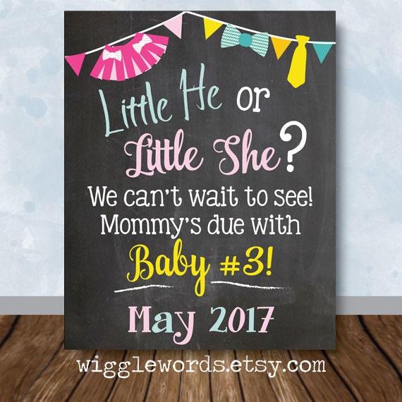 electronic pregnancy announcement