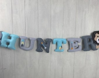 Felt name banner - custom name banner -