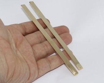 1 Pcs 7x150mm 24k Shiny Gold Flat Bangle , Cuff for stamping blank , Adjustable bracelet bangle , CHK61-1
