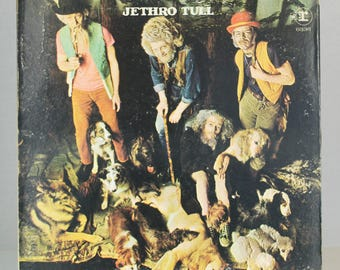 Jethro Tull This Was 1968 Blues Rock Chrysalis Records Original Vintage Vinyl Records LP