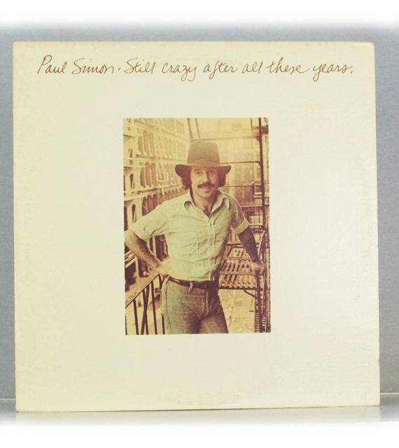 Paul Simon - Still Crazy After All These Years Album Columbia Records 1975 Original Vintage Vinyl Record