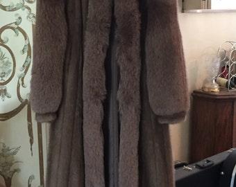 Full Length MINK COAT FUR Coat Vintage