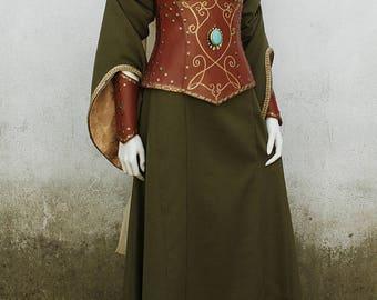 Elven Corset and Cuffs