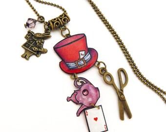 Alice the Wonderland pendant