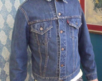 1950's-60's Men's Vintage LEvi's Jacket, Big E
