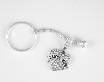 Dance Wife Jewelry Dance Wife Gift Keychain Dancing Dance Gift Dancer Keychain Dancer gift Ballet Theater Key Chain