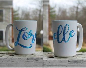 Personalized Coffee Mug With Name, Coffee Cup With Name, Custom Name Mug