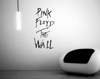 Pink floyd sticker etsy for Dark side of the moon mural