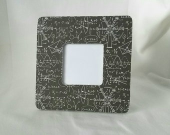 Little scientist black and white picture frame, science frame