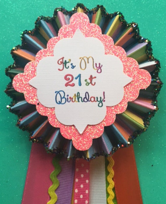 21st birthday 21st birthday corsage birthday party decor