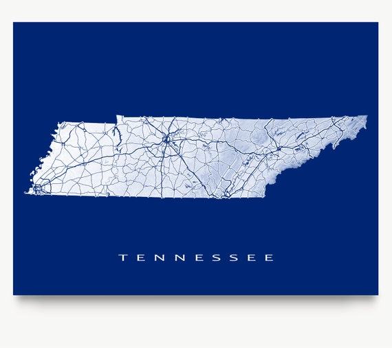 Gargantuan image regarding printable map of tennessee