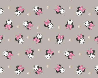 Minnie Mouse, 85270203, col 03, Disney, Camelot Fabrics, multiple quantity cut in one piece, 100% Cotton