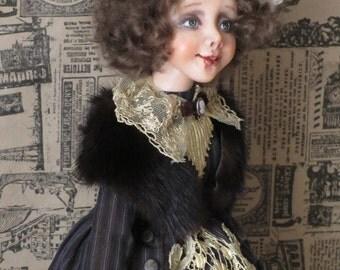 """OOAK art doll """"Annie"""""""