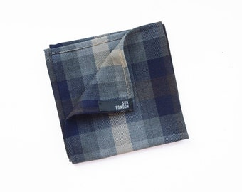 Russell Wool Pocket Square, Men's Handkerchief