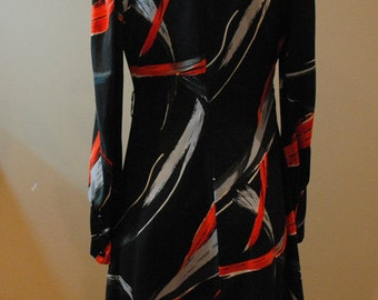 Bright Abstract Design Dress